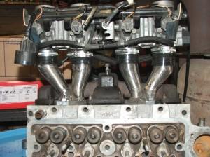 custom throttle body manifold