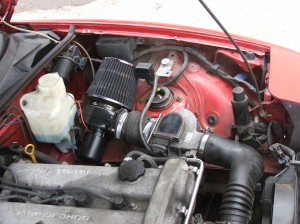 The electric turbo once fitted